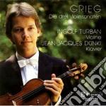 SONATE X VL (INTEGRALE) cd musicale di Edvard Grieg