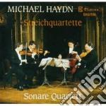 QUARTETTI X ARCHI (P 116, 118 > 120, 122 cd musicale di Michael Haydn
