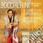 CONCERTI X VLC (INTEGRALE) cd musicale di Luigi Boccherini