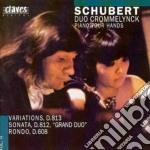 Schubert Franz - Opere X Pf A 4 Mani Vol.2: Variazioni D813, Sonata D 812