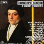 IL SIGNOR BRUSCHINO cd musicale di Gioachino Rossini