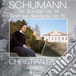 Schumann Robert - Sonata X Pf N.3 Op.14, Kinderszenen Op.15 cd musicale di Robert Schumann