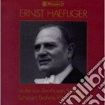 HAEFLIGER ERNST INTERPRETA cd musicale