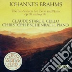 Brahms Johannes - Sonata X Vlc Op.38, Op.99 cd musicale di Johannes Brahms