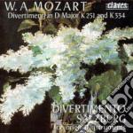 Mozart Wolfgang Amadeus - Divertimento K 251, K 334, Marcia K 445 cd musicale di Wolfgang Amadeus Mozart