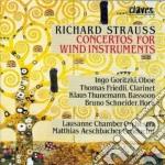 Strauss Richard - Concerto X Oboe, Concerto X Corno N.2, Concerto X Clar E Fag cd musicale di Richard Strauss