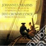SINFONIA N.1 OP.68, N.4 OP.98 (VERSIONI cd musicale di Johannes Brahms