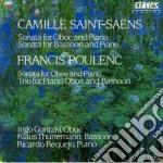 Saint-saëns Camille - Sonata X Oboe Op.166, Sonata X Fag Op.168 cd musicale di Camille Saint-saÃ‹ns