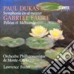 Dukas Paul - Sinfonia In Do Mag cd musicale di Paul Dukas