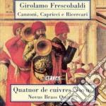 Frescobaldi Girolamo - Canzoni, Capricci E Ricercari cd musicale di Gerolamo Frescobaldi
