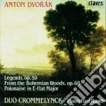 OPERE X PF A 4 MANI VOL.1: LEGENDS OP.59 cd musicale di Antonin Dvorak