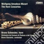 CONCERTI X CORNO cd musicale di Wolfgang Amadeus Mozart