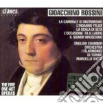 Rossini/opere in 1 atto (integrale) cd musicale di Gioachino Rossini