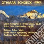 Schoeck Othmar - Concerto X Vl Op.21, Suite Dall'opera
