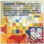 DANZAS GITANAS OP.55, RAPSODIA SINFONICA cd musicale di Joaquin Turina