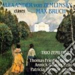 Zemlinsky Alexander Von - Trio X Clar, Vlc E Pf Op.3 cd musicale di Alexander Zemlinsky