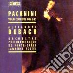 Paganini Niccolo' - Concerto X Vl N.2 Op.17, N.5 cd musicale di Niccolo' Paganini