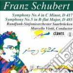 Schubert Franz - Sinfonia N.4 D 417