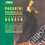 Paganini Niccolo' - Concerto X Vl N.3, N.6 cd musicale di Niccolo' Paganini