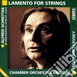SCHNITTKE/LAMENTO X ARCHI $ CHAMBER ORCH cd musicale di Alfred Schnittke