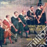 Composizioni Di Simpson, Dowland, Webster, Topffer, Farnaby, Grabbe, Johnson, Bl cd musicale