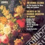 SONATE A 3 X OBOE, VL E BC Z 181 cd musicale di ZELENKA JAN DISMAS