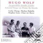 LIEDER SU TESTI DI GOETHE (SELEZIONE) cd musicale di Hugo Wolf