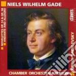 Gade Jacob - Novellettes Op.53, Op.58, Andante E Allegro cd musicale di Jacob Gade