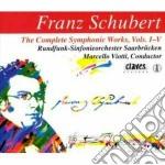 SINFONIE, OUVERTURES (INTEGRALE) cd musicale di Franz Schubert