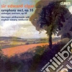 Elgar Edward - Sinfonia N.1 Op.55, Cockaigne Overture cd musicale di Edward Elgar