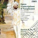 Trascrizioni E Parafrasi Operistiche X Fag, Arpa E Pf: Da L'elisir D'amore, Don cd musicale