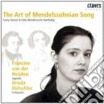 Mendelssohn Felix - Lieder cd musicale di Felix Mendelssohn