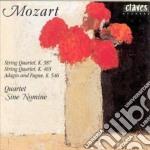 Mozart Wolfgang Amadeus - Quartetto X Archi K 465, K 387, Kadago E Fuga K 546 cd musicale di Wolfgang Amadeus Mozart