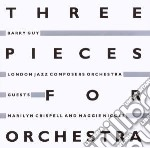 Guy, Barry-london Ja - Three Pieces For Orchestra cd musicale di LONDON JAZZ COMPOSER