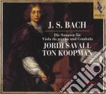 Bach Sonate Per Viola Da Gamba cd musicale di Bach
