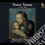 Ninna nanna - montserrat figueras cd musicale di Artisti Vari