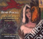 Purcell- La Regina Delle Fate E La Profe cd musicale di Henry Purcell
