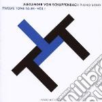 Alexander Von Schlippenbach - Twelve Tone Tales Vol. 1 cd musicale di Von schlippenbach alexander