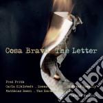 Cosa Brava - Letter cd musicale di Fred-cosa bra Frith