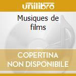 Musiques de films cd musicale di Woody Allen