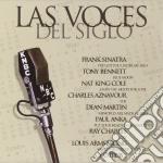 Las voces del siglo cd musicale di Artisti Vari
