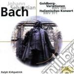 Goldberg variations cd musicale di Maria Perrotta