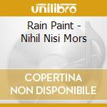 Nihil nisi mors cd musicale