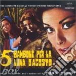 5 BAMBOLE PER LA L'UNA D'AGOSTO cd musicale di Piero Umiliani