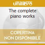 The complete piano works cd musicale di George Gershwin