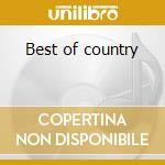 Best of country cd musicale