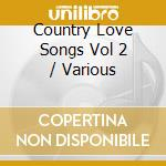 Country love song cd musicale