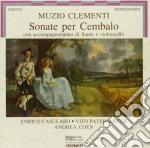 Son.per cembalo, flauto e cello cd musicale di Clementi