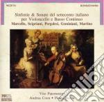 Sonate Per Violoncello Del '700 Italiano cd musicale di Artisti Vari