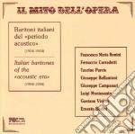Baritoni italiani cd musicale di Artisti Vari